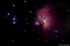 M 42 Orionnebel 2013